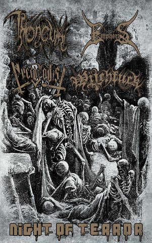 Throneum / Necrosadist / Empheris / Witchfuck - Night of Terror