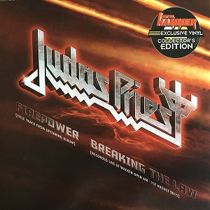 Judas Priest - Firepower / Breaking the Law