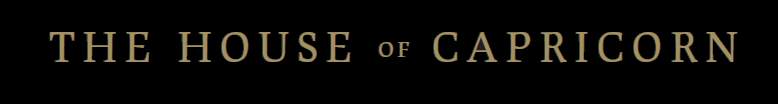 The House of Capricorn - Logo