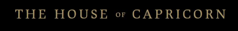 The House of Capricorn - Logo