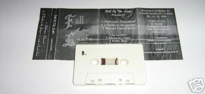 Fall of the Leafe - Promo 1999