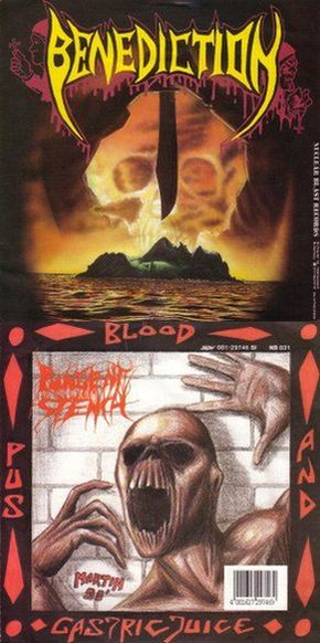 Pungent Stench / Benediction - Blood, Pus & Gastric Juice / Confess All Goodness