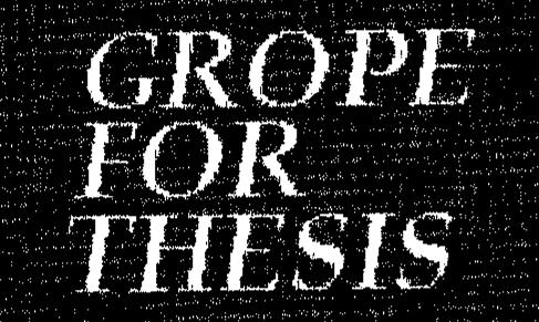 Grope for Thesis - Logo