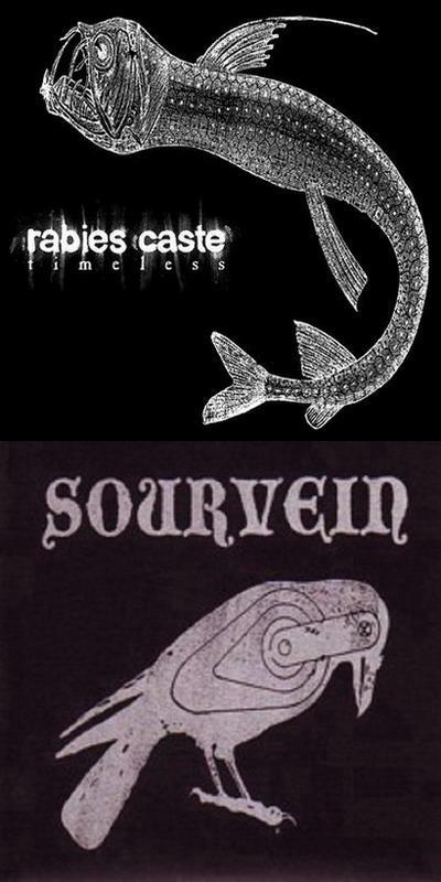 Sourvein / Rabies Caste - Rabies Caste / Sourvein