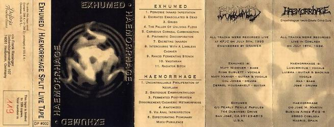 Exhumed / Haemorrhage - Exhumed / Haemorrhage