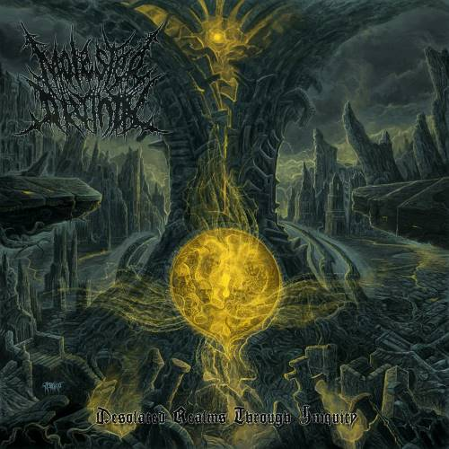 Molested Divinity - Desolated Realms Through Iniquity