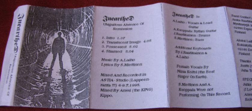 Inearthed - Ubiguitous Absence of Remission