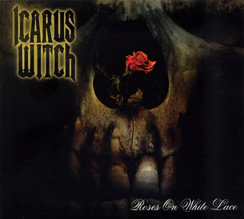 Icarus Witch - Roses on White Lace
