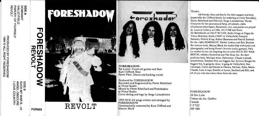 Foreshadow - Revolt