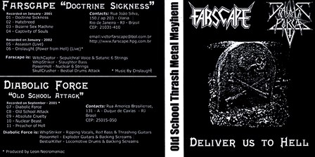 Farscape / Diabolic Force - Deliver Us to Hell