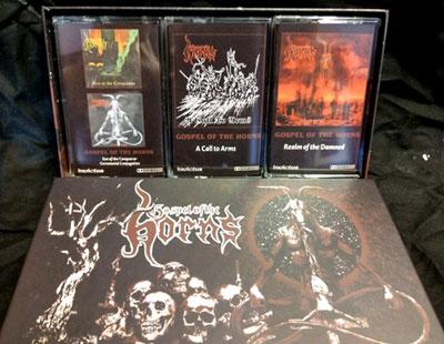 Gospel of the Horns - Gospel of the Horns Cassette Compilation Box set