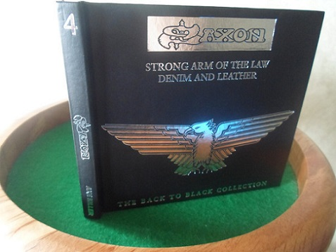 Saxon - Strong Arm of the Law / Denim and Leather