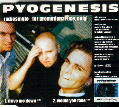 Pyogenesis - Drive Me Down