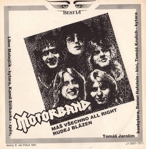Motorband - Máš všechno All Right / Rudej blázen