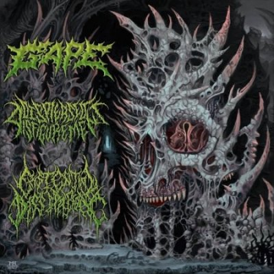 Gape / Displeased Disfigurement / Existential Dissipation - International Solidification