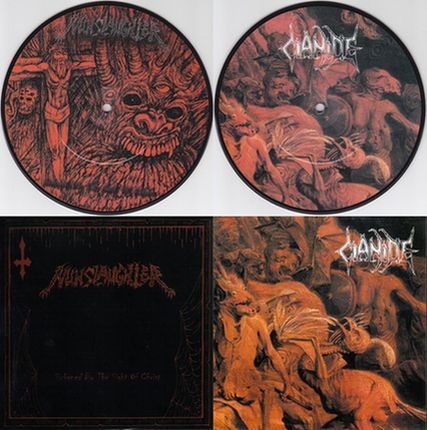 Nunslaughter / Cianide - Nunslaughter / Cianide