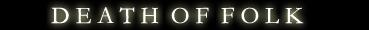 Death of Folk - Logo