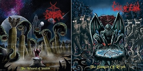 Caedes Cruenta / Cult of Eibon - The Wizard of Yaddith / The Sleeper of R'Lyeh