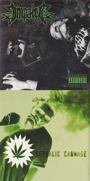 Cephalic Carnage / Impaled - Impaled / Cephalic Carnage