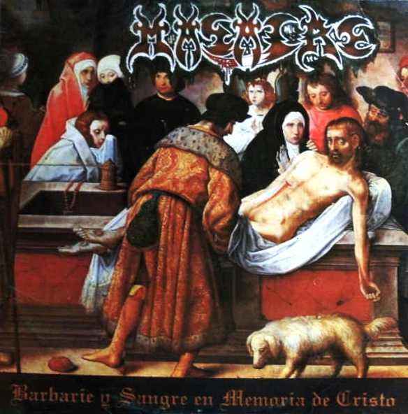 Barbarie y Sangre en Memoria de Cristo cover (Click to see larger  picture)
