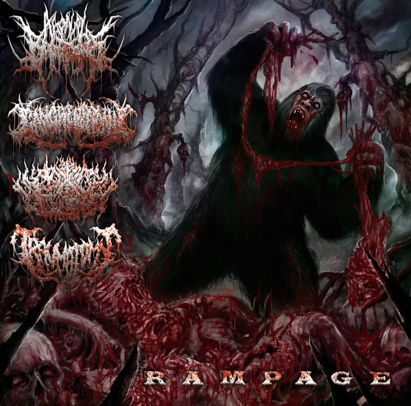 Gangrenectomy / Traumatomy / Pit of Toxic Slime / Agonal Breathing - Rampage