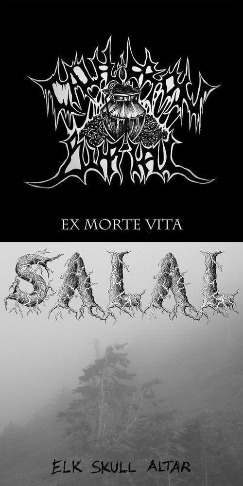 Cauldron Burial / Salal - Ex Morte Vita / Elk Skull Altar