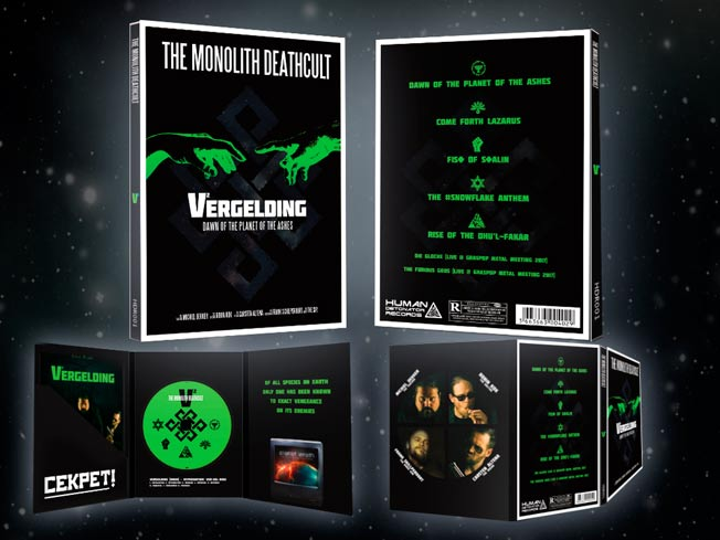 The Monolith Deathcult - V2 - Vergelding: Dawn of the Planet of the Ashes