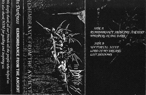 In Darkness - Remembrance from the Ancient