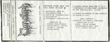 Cenotaph - Promo 1991