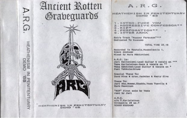 A.R.G. - Heathenism in Penitentiary