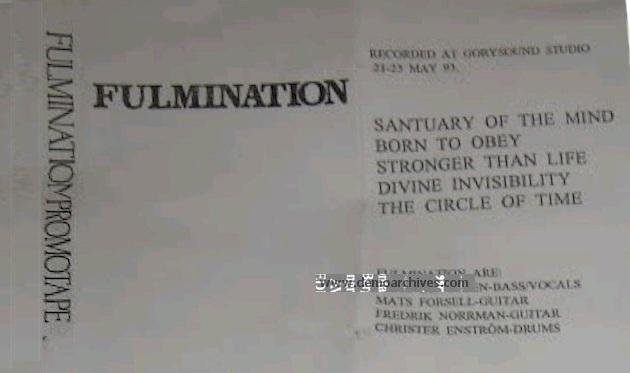 Fulmination - Promo 93