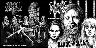Cardiac Arrest / Surgikill - Embodiment of Sin and Obscenity / Blade Violent