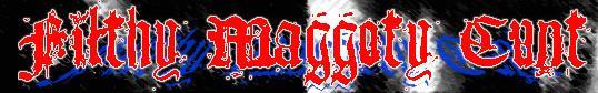 Filthy Maggoty Cunt - Logo