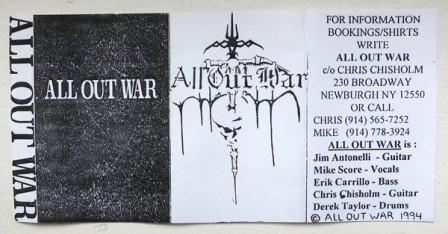 All Out War - All Out War