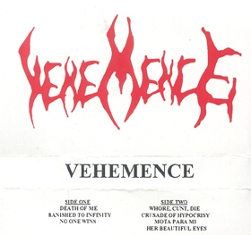 Vehemence - Vehemence