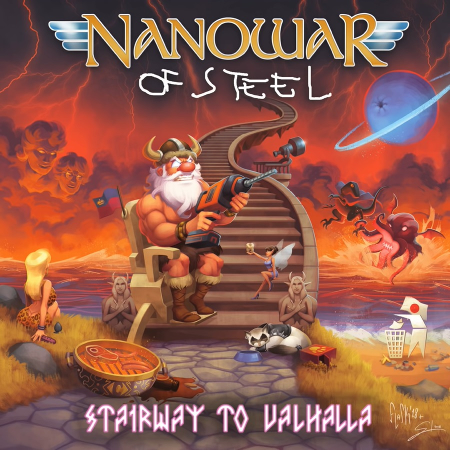 Nanowar Of Steel — A Knight At The Opera (2014)