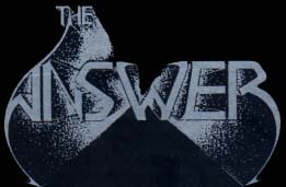 The Answer - Logo