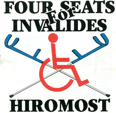 Four Seats for Invalides - Hiromost