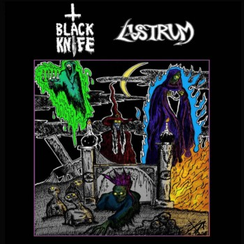 Lustrum / Black Knife - Black Knife / Lustrum