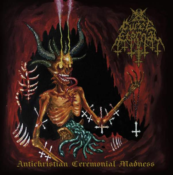 Curse Eternal - Antichristian Ceremonial Madness