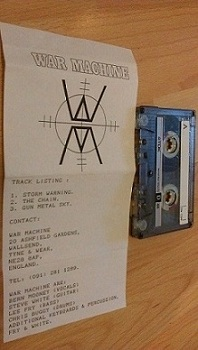 War Machine - Demo 1988