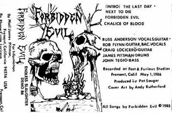 Forbidden Evil - Endless Slaughter