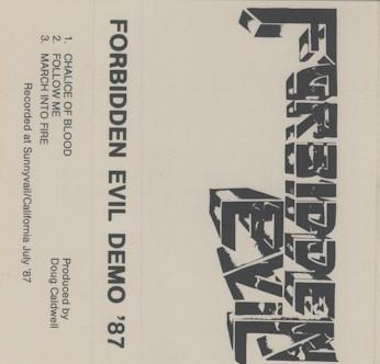 Forbidden Evil - Demo '87