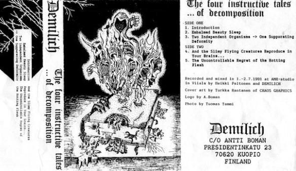 Demilich - The Four Instructive Tales ...of Decomposition