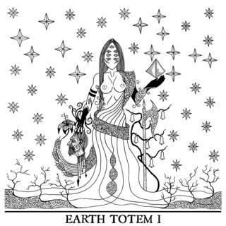 A Monumental Black Statue - Earth Totem I