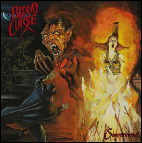 Blood Curse — Sorceress (2018)