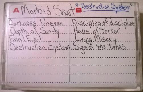 Morbid Saint - Destruction System