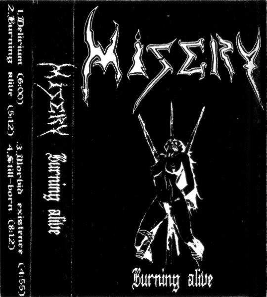 Misery - Burning Alive