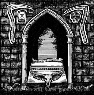 Necrostrigis / Nocturnal Werewolf - Frozen Graves Triumphant Blaze