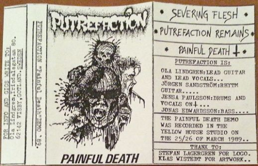 Putrefaction - Painful Death (Demo) (1989)